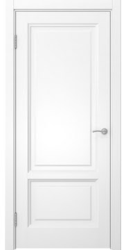 Межкомнатная дверь, FK014 (эмаль белая, глухая)