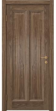 Межкомнатная дверь FK015 (шпон американский орех / глухая) — 5166