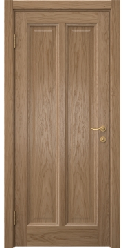 Межкомнатная дверь FK015 (шпон дуб светлый / глухая) — 5164