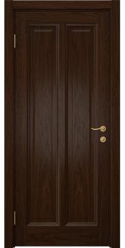 Дверь в классическом стиле, FK015 (шпон дуб коньяк, глухая)