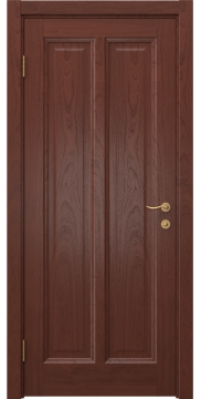 Межкомнатная дверь FK015 (шпон красное дерево / глухая) — 5149