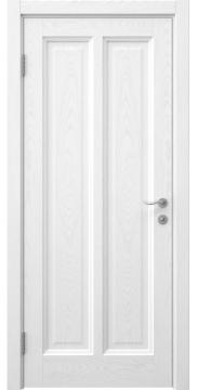 Межкомнатная дверь FK015 (шпон ясень белый / глухая) — 5160