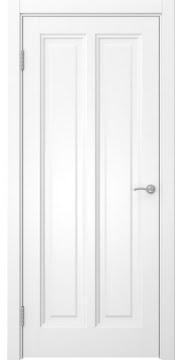 Межкомнатная дверь, FK015 (эмаль белая, глухая)