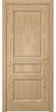 Межкомнатная дверь, FK016 (шпон дуб натуральный, глухая)