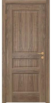 Межкомнатная дверь FK016 (шпон американский орех / глухая) — 5158