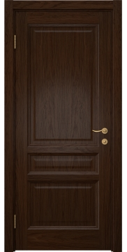 Межкомнатная дверь, FK016 (шпон дуб коньяк, глухая)