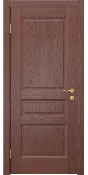 Межкомнатная дверь FK016 (шпон красное дерево / глухая) — 5189