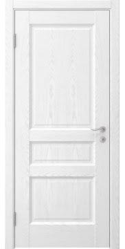 Межкомнатная дверь FK016 (шпон ясень белый / глухая) — 5205