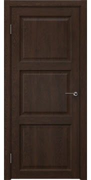 Межкомнатная дверь FK017 (экошпон «дуб шоколад» / глухая) — 0325
