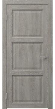 Межкомнатная дверь FK017 (экошпон «дымчатый дуб» / глухая) — 0328