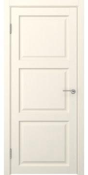 Межкомнатная дверь FK017 (экошпон «ваниль» / глухая) — 0316