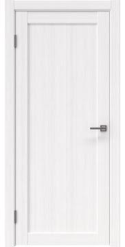 Межкомнатная дверь, FK021 (экошпон белый FL, глухая)