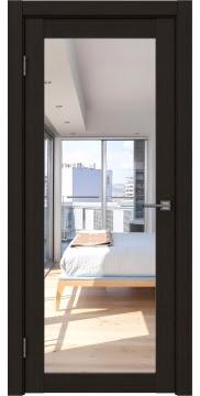 Межкомнатная дверь FK021 (экошпон «венге FL», зеркало) — 9005