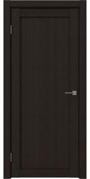 Межкомнатная дверь, FK021 (экошпон венге FL, глухая)