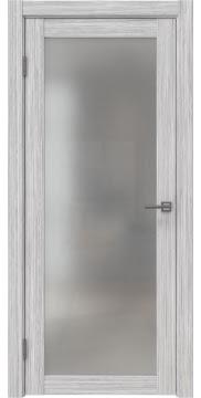 Дверь FK021 (экошпон серый дуб FL, матовое стекло)