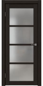 Межкомнатная дверь FK027 (экошпон «венге FL», матовое стекло) — 9172