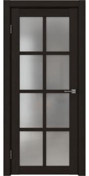 Межкомнатная дверь FK028 (экошпон «венге FL», матовое стекло) — 9177