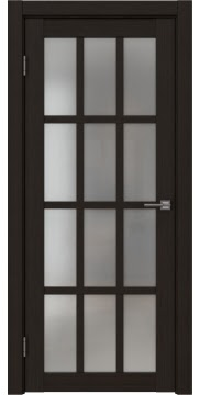 Межкомнатная дверь FK029 (экошпон «венге FL», матовое стекло) — 9182
