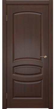 Межкомнатная дверь, FK030 (шпон итальянский орех, глухая)