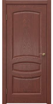 Межкомнатная дверь FK030 (шпон красное дерево / глухая) — 5855