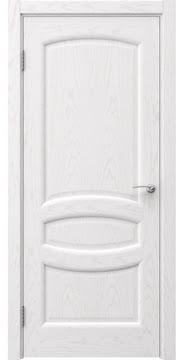 Межкомнатная дверь FK030 (шпон ясень белый / глухая) — 5849