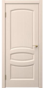 Межкомнатная дверь FK030 (шпон беленый дуб / глухая) — 5846