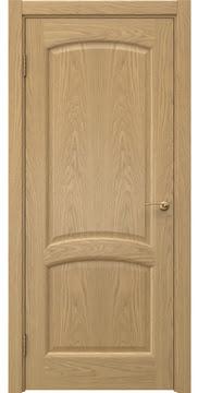 Межкомнатная дверь, FK031 (шпон дуб натуральный, глухая)