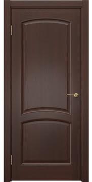 Межкомнатная дверь, FK031 (шпон итальянский орех, глухая)