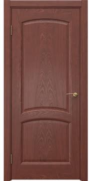 Межкомнатная дверь FK031 (шпон красное дерево / глухая) — 5872