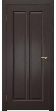 Межкомнатная дверь FK032 (шпон венге / глухая) — 5966