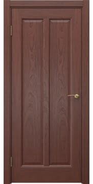 Межкомнатная дверь, FK032 (шпон красное дерево, глухая)