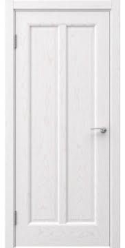 Межкомнатная дверь FK032 (шпон ясень белый / глухая) — 5964