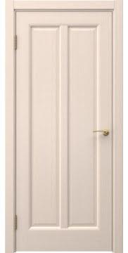 Шпонированная дверь FK032 (шпон беленый дуб, глухая)