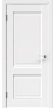 Межкомнатная дверь, FK033 (экошпон белый, глухая)