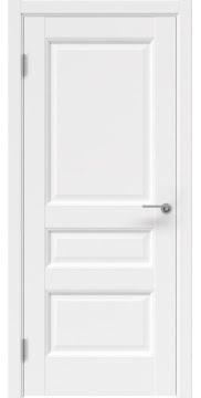 Межкомнатная дверь, FK035 (экошпон белый, глухая)