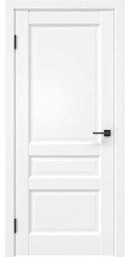 Межкомнатная дверь, FK038 (экошпон белый (под эмаль), глухая)