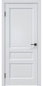 Межкомнатная дверь, FK038 (экошпон серый (под эмаль), глухая)