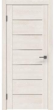 Межкомнатная дверь GM001 (экошпон «белый дуб» / матовое стекло) — 0373