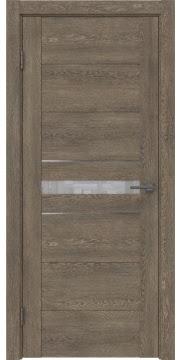 Межкомнатная дверь GM003 (экошпон «дуб антик» / лакобель белый) — 0417