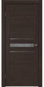 Межкомнатная дверь GM003 (экошпон «дуб шоколад» / лакобель серый) — 0431