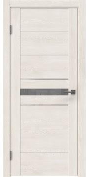 Межкомнатная дверь GM003 (экошпон «белый дуб» / лакобель серый) — 0423