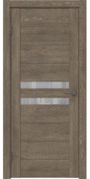 Межкомнатная дверь GM004 (экошпон «дуб антик» / лакобель белый) — 0433