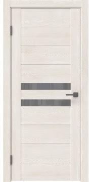 Межкомнатная дверь GM004 (экошпон «белый дуб» / лакобель серый) — 0439