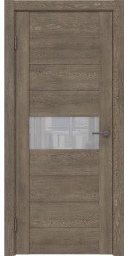 Межкомнатная дверь GM005 (экошпон «дуб антик» / лакобель белый) — 0457