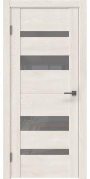 Межкомнатная дверь GM006 (экошпон «белый дуб» / лакобель серый) — 0496