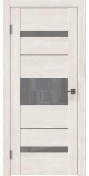 Межкомнатная дверь GM007 (экошпон «белый дуб» / лакобель серый) — 0524