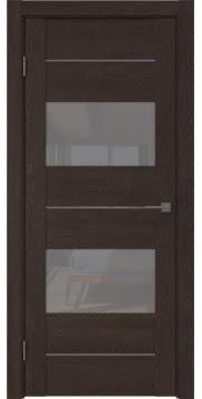 Межкомнатная дверь GM008 (экошпон «дуб шоколад» / лакобель серый) — 0598