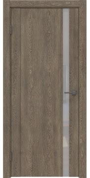 Межкомнатная дверь GM010 (экошпон «дуб антик» / лакобель белый) — 0645