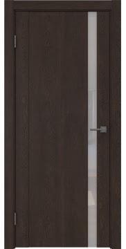 Межкомнатная дверь GM010 (экошпон «дуб шоколад» / лакобель белый) — 0657