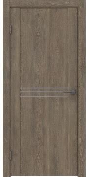Межкомнатная дверь, GM013 (экошпон дуб антик, глухая)